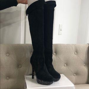 Betsy Johnson knee high boots